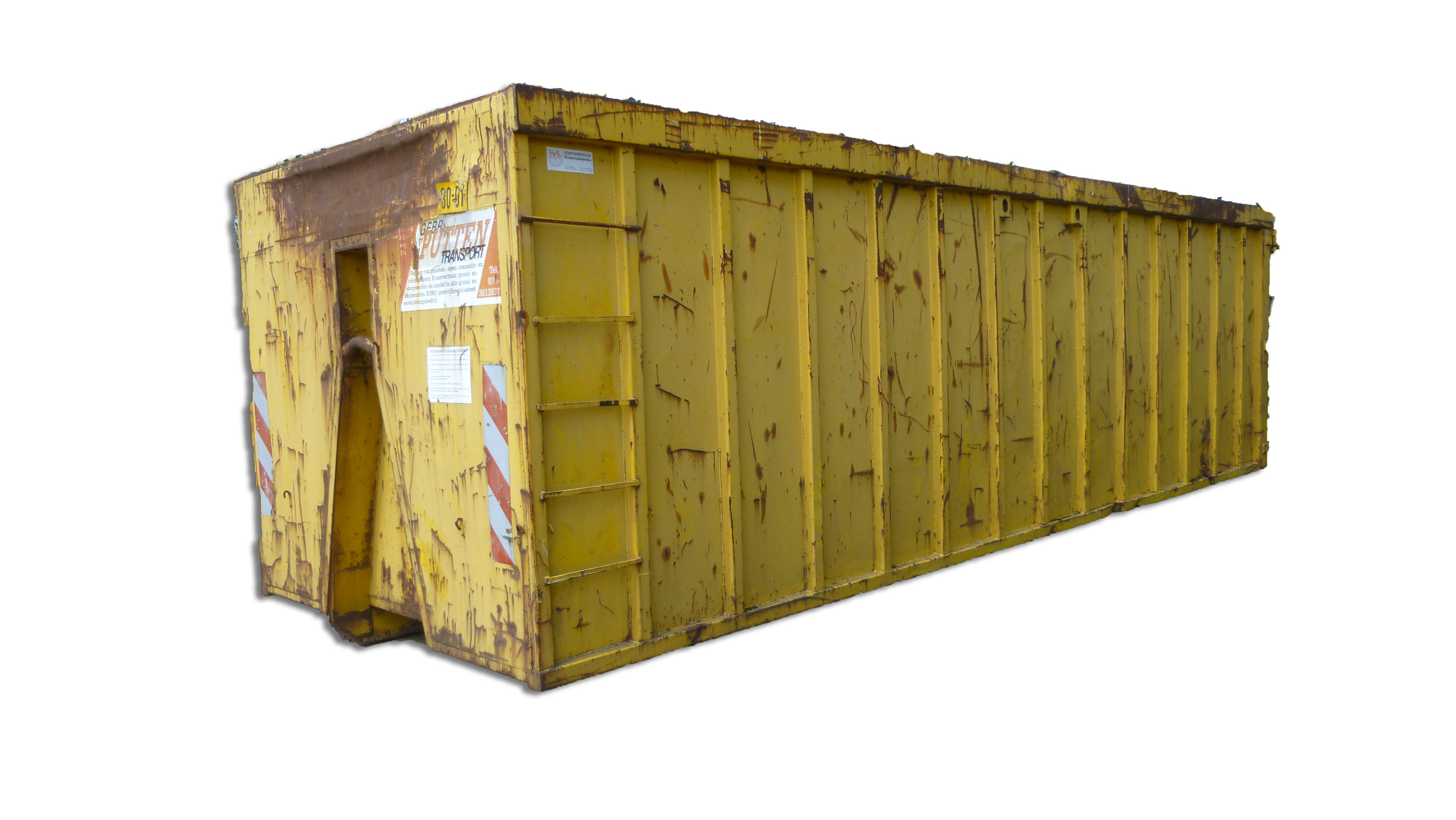 30m3 afvalcontainer