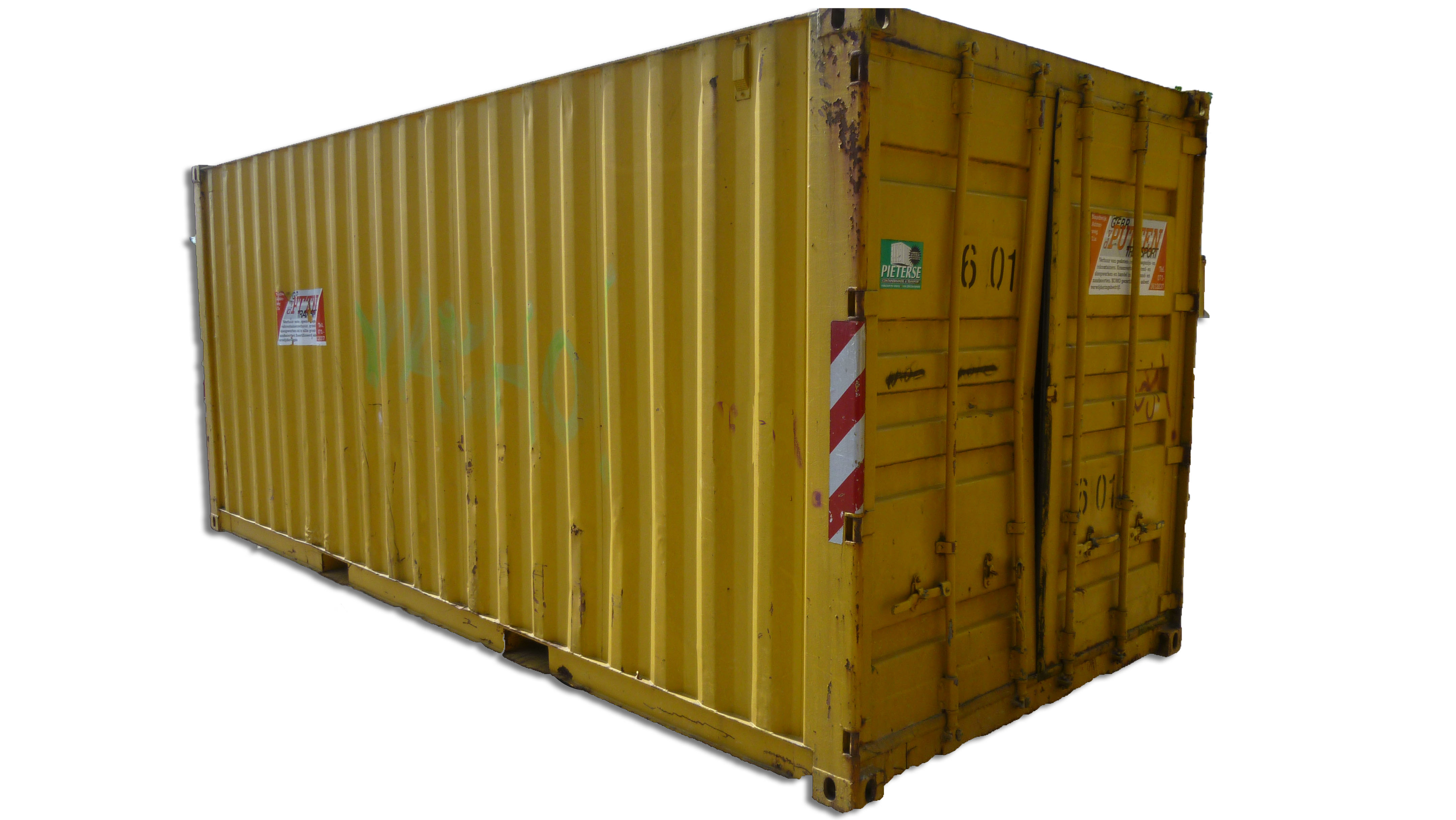 6 meter magazijncontainer